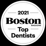 top dentists logo 2021 rgb black